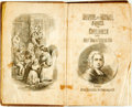 Books:Music & Sheet Music, Isaac Watts. Divine and Moral Songs for Children. London:George Routledge, [n.d.]. Original cloth binding, with lin...