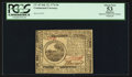 Colonial Notes:Continental Congress Issues, Continental Currency July 22, 1776 $6 PCGS Apparent About New 53.....