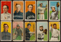 Baseball Cards:Lots, 1909-11 T206 White Border Collection (10) With Old Mill and BrownHindu. ...