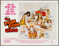 "Movie Posters:Bad Girl, The Pom Pom Girls (Crown International, 1976). Half Sheet (22"" X 28""). Bad Girl.. ..."