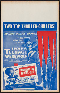 I was a Teenage Werewolf/Invasion of the Saucer-Men Combo & Other Lot (American International, 1957). Benton Win...