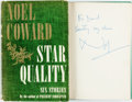 Books:Literature 1900-up, Noel Coward. INSCRIBED. Star Quality. Garden City:Doubleday, 1951. First edition. Inscribed by the author on FFEP...