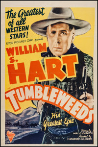 """Tumbleweeds (Astor Pictures, R-1939). One Sheet (27"""" X 41""""). Western"""
