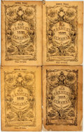 Books:Americana & American History, [Almanac]. Robert B. Thomas. Group of Four Copies of Robert Thomas'Old Farmer's Almanac, 1915-1921. Various publish... (Total:4 Items)