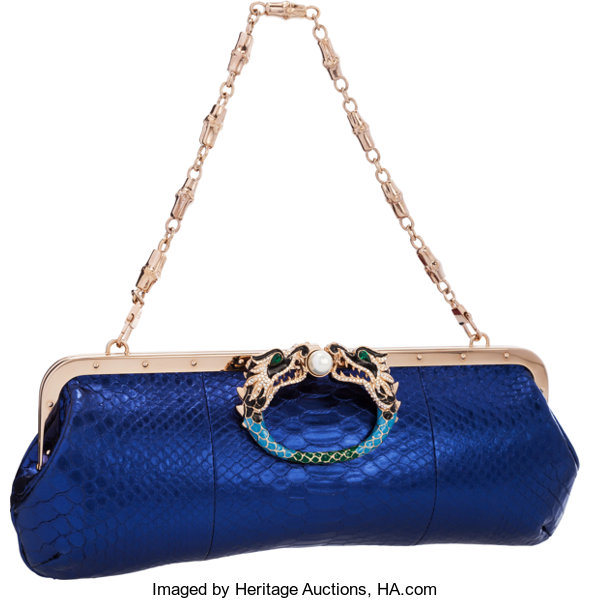 fea7cf4daec Gucci by Tom Ford Limited Edition Irridescent Blue Python