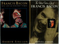 Books:Art & Architecture, [Francis Bacon]. Two First Edition Biographies of Francis Bacon. Daniel Farson. The Gilded Gutter Life of Francis Bacon.... (Total: 2 Items)