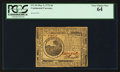 Colonial Notes:Continental Congress Issues, Continental Currency May 9, 1776 $6 PCGS Very Choice New 64.. ...