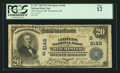 National Bank Notes:Kentucky, Winchester, KY - $20 1902 Plain Back Fr. 657 The Citizens NB Ch. #(S)2148. ...