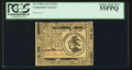 Colonial Notes:Continental Congress Issues, Continental Currency May 10, 1775 $3 PCGS Choice About New 55PPQ.....