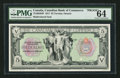 Canadian Currency: , Toronto, ON The Canadian Bank of Commerce $5 1917 Ch. 75-16-04P Face Proof . ...