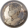 Coins of Hawaii, 1891 $1 Queen Liliuokalani Pattern Silver Dollar, M. 2MH-1, BruceX-M1, PR63 Deep Cameo PCGS....