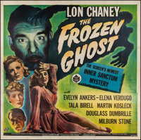 "The Frozen Ghost (Universal, 1944). Six Sheet (79.25"" X 80""). Horror"