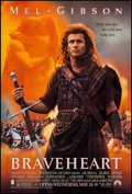 """Movie Posters:Action, Braveheart (Paramount, 1995). One Sheet (27"""" X 40"""") DS Advance. Action.. ..."""
