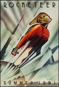 "The Rocketeer (Walt Disney Pictures, 1991). Autographed One Sheet (27"" X 40"") DS Advance. Action"