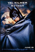 "Movie Posters:Action, Batman Forever (Warner Brothers, 1995). One Sheets (4) (27"" X 40"")DS Advance: Batman, Robin, Two-Face, Dr. Chase Meridian, ...(Total: 5 Items)"