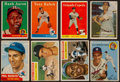 Baseball Cards:Lots, 1950's-60's Topps Baseball Stars and HoFers Card Collection (11)....