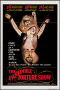 "The Incredible Torture Show (AFDC, 1976). One Sheets (29) (27"" X 41"") Flat Folded. Horror. ... (Total: 29 Item..."