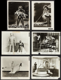 "The Day the Earth Stood Still (20th Century Fox, 1951). Photos (10) (8"" X 10""). Science Fiction. ... (Total: 1..."