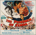 "Movie Posters:Adventure, The Prisoner of Zenda (MGM, 1952). Six Sheet (78.5"" X 80"").Adventure.. ..."