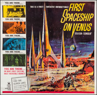 "First Spaceship on Venus (Crown International, 1962). Six Sheet (79"" X 81""). Science Fiction"