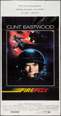 "Movie Posters:Action, Firefox (Warner Brothers, 1982). Three Sheet (41"" X 78""). Action....."