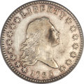 Early Half Dollars, 1795 50C 2 Leaves, O-105a, R.4, XF40 PCGS....