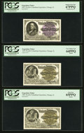 Miscellaneous:Other, World's Columbian Exposition Two Complete Caxton Sets 1893 PCGSGraded.. ... (Total: 22 items)