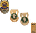 Golf Collectibles:Medals/Jewelry, Four Money Clips From The Sam Snead Collection....