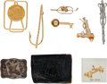 Golf Collectibles:Medals/Jewelry, Tie Tacks, Money Clip & Wallet From The Sam SneadCollection....