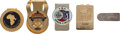 Golf Collectibles:Medals/Jewelry, Five Money Clips From The Sam Snead Collection....
