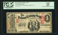 National Bank Notes:Connecticut, Hartford, CT - $1 1875 Fr. 384 The National Exchange Bank Ch. # 361. ...