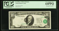 Error Notes:Shifted Third Printing, Fr. 2021-C $10 1969C Federal Reserve Note. PCGS Very Choice New 64PPQ.. ...