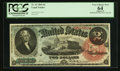 Large Size:Legal Tender Notes, Fr. 42 $2 1869 Legal Tender PCGS Apparent Very Choice New 64.. ...