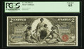 Large Size:Silver Certificates, Fr. 248 $2 1896 Silver Certificate PCGS Gem New 65.. ...