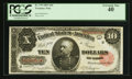 Large Size:Treasury Notes, Fr. 370 $10 1891 Treasury Note PCGS Extremely Fine 40.. ...