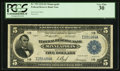 Fr. 799 $5 1918 Federal Reserve Bank Note PCGS Very Fine 30