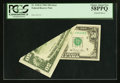 Error Notes:Foldovers, Fr. 2120-E $50 1981 Federal Reserve Note. PCGS Choice About New58PPQ.. ...