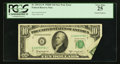 Error Notes:Foldovers, Fr. 2014-G* $10 1950D Federal Reserve Note. PCGS Very Fine 25.. ...