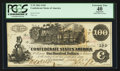 Confederate Notes:1862 Issues, T39 $100 1862 PF-4 Cr. 393.. ...