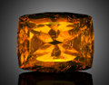 Gems:Faceted, Facetted Gemstone: Amber - 31.97 Ct. . Poland. ...