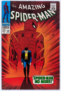 Silver Age (1956-1969):Superhero, The Amazing Spider-Man #50 (Marvel, 1967) Condition: FN/VF....