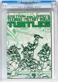 Modern Age (1980-Present):Cartoon Character, Teenage Mutant Ninja Turtles #4 (Mirage Studios, 1985) CGC NM+ 9.6Cream to off-white pages....