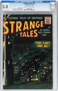 Silver Age (1956-1969):Horror, Strange Tales #52 (Atlas, 1956) CGC VG/FN 5.0 Cream to off-whitepages....