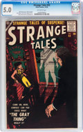 Silver Age (1956-1969):Horror, Strange Tales #53 (Atlas, 1956) CGC VG/FN 5.0 Off-white pages....