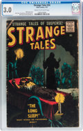 Silver Age (1956-1969):Horror, Strange Tales #54 (Atlas, 1957) CGC GD/VG 3.0 Cream to off-whitepages....