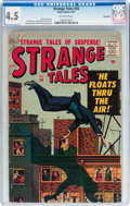 Silver Age (1956-1969):Horror, Strange Tales #58 Northford pedigree (Atlas, 1957) CGC VG+ 4.5Off-white pages....