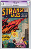 Silver Age (1956-1969):Horror, Strange Tales #68 Trimmed (Atlas, 1959) CGC Apparent VG/FN 5.0Cream to off-white pages....