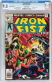 Iron Fist #15 35¢ Price Variant (Marvel, 1977) CGC NM- 9.2 Off-white pages