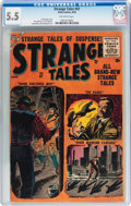 Silver Age (1956-1969):Horror, Strange Tales #47 (Atlas, 1956) CGC FN- 5.5 Off-white pages....