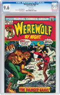 Bronze Age (1970-1979):Horror, Werewolf by Night #4 (Marvel, 1973) CGC NM+ 9.6 White pages....